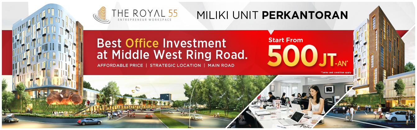 the royal 55 royal residence surabaya